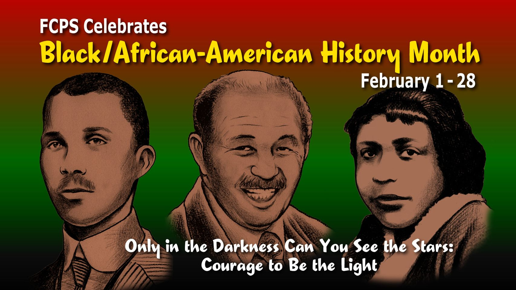 Black/African-American History Month graphic