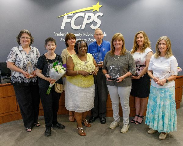 Photo of 2019 Support Employee Award Winners