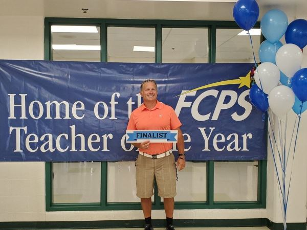Photo of Mike Franklin, Teacher of the Year State Finalist