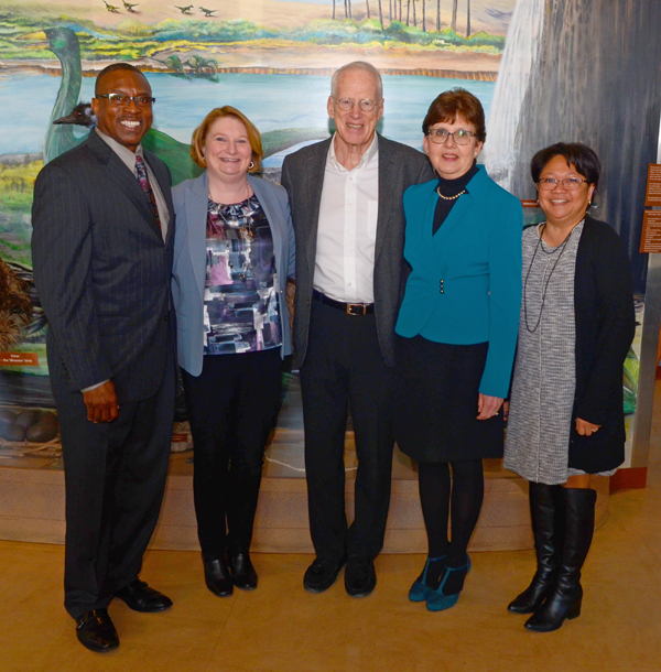 Photo of Dr. Kirwan and Others
