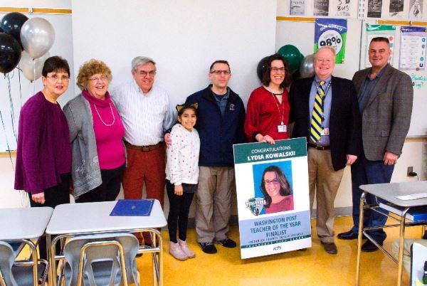 Washington Post Teacher of the Year Finalist for FCPS Lydia Kowalski