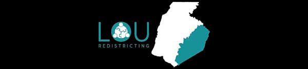 LOU Redistricting banner graphic