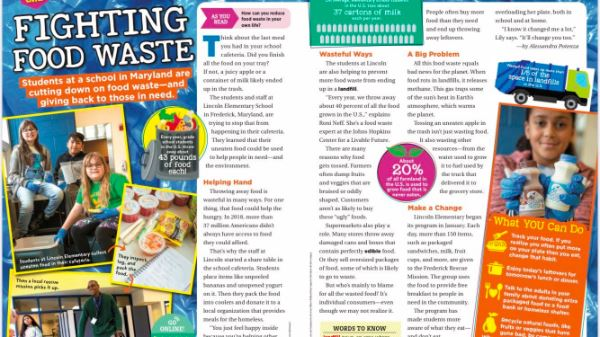Scholastic News Features Lincoln ES