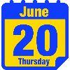 Thursday June 20 image