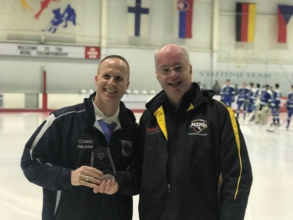 Toby Heusser Hockey Coach of the Year